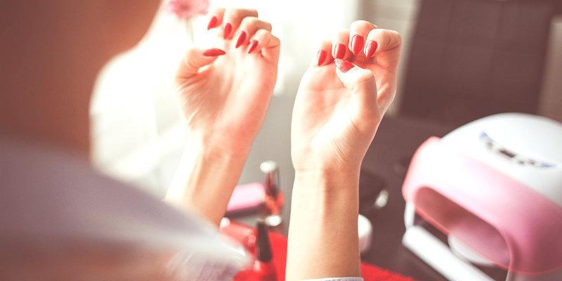 lampade per unghie led uv fornetto unghie